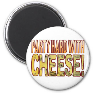 Party Hard Blue Cheese Magnet