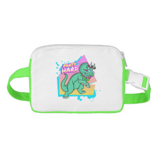 Party Hard dinosaur II -Triceratops with glowstick Fanny Pack
