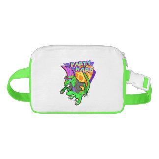 Party Hard Dinosaur Raptor 3 Tanzen Waist Bag