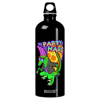 Party Hard Dinosaur Raptor 3 Tanzen Water Bottle