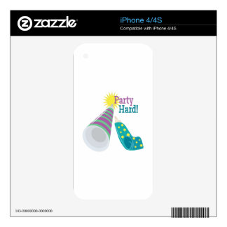 Party Hard! Skins For iPhone 4