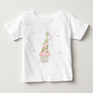 Party Hat and Cupcake Infant T-shirt