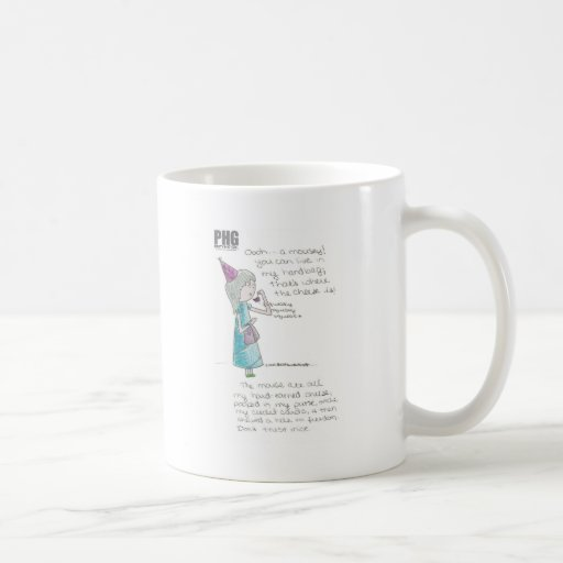 Party Hat Girl--Mousey Coffee Mugs