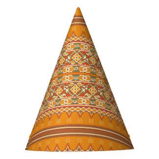 Party Hat Ikat Border Look