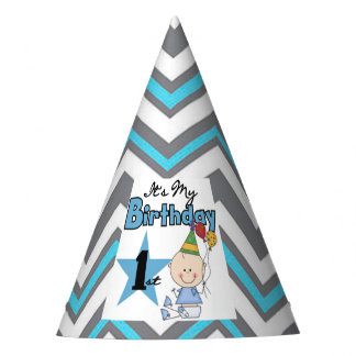 Party Hat/It's My First Birthday Party Hat
