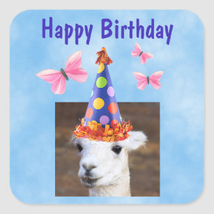 Llamas With Hats Stickers