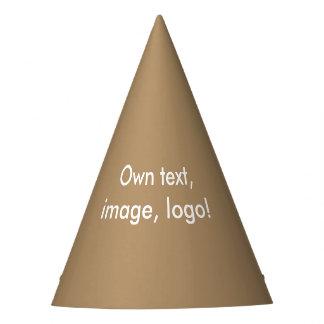 Party Hat uni Gold