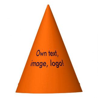 Party Hat uni Orange