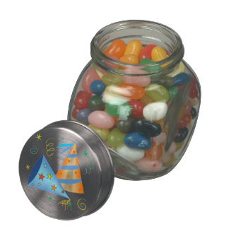 Party Hats Candy Jar Jelly Belly Candy Jars