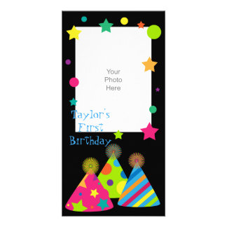 Party Hats Photo Card