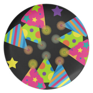 Party Hats Plate