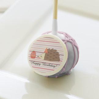Party Hedgehog and Cupcake Cake Pops