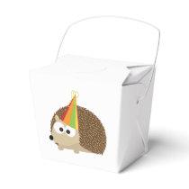 Party hedgehog favor box