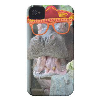 Party Hippo chow time iPhone 4 Cover