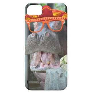 Party Hippo chow time iPhone SE/5/5s Case