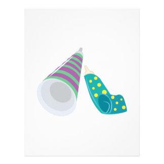 Party Horns Letterhead