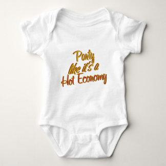Party Hot Economy Baby Bodysuit