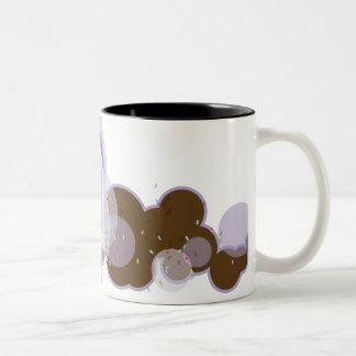Party Ice Cream Two-Tone Coffee Mug