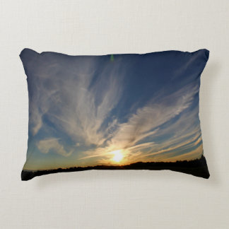 Party In The Evening Sky Decorative Pillow