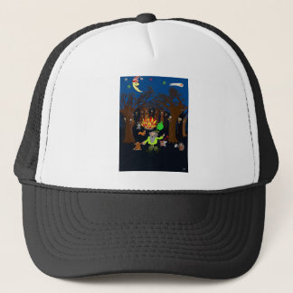 Party in the Magic Tree Wood Trucker Hat
