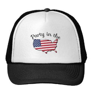 Party In USA Trucker Hat