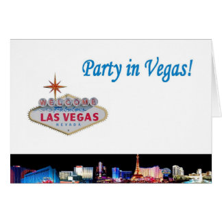 Party in Vegas! Card
