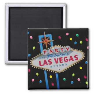 Party in Vegas! Magnet