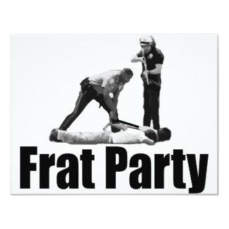 "Party 4.25"" X 5.5"" Invitation Card"