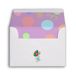 PARTY INVITATION A2 Note Card Envelope