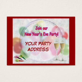 Party Invitation Hand-Outs