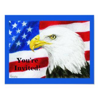 """Party Invitation - Patriotic - """"American Pride"""""""
