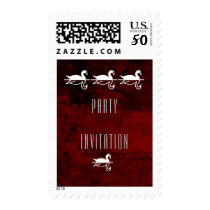 Party Invitation Postage