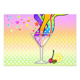 Party Invitations - Maxxed Pop Art Martini