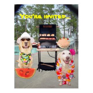 Party Invite Postcard