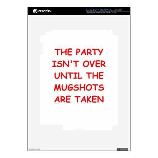 party iPad 3 skin