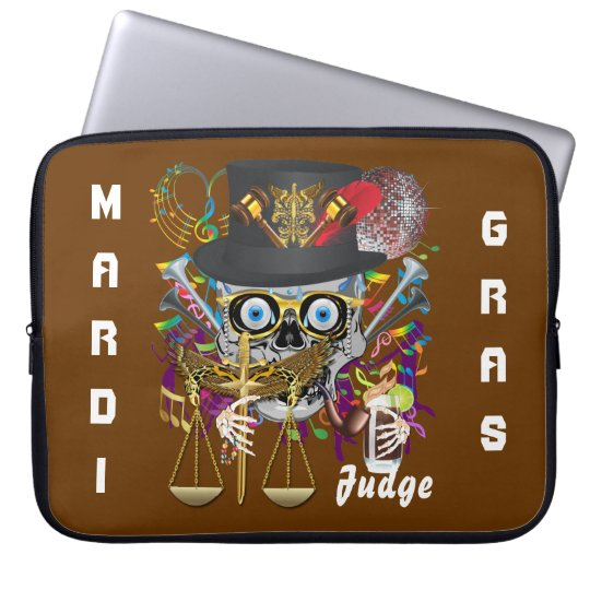 Party Judge  30 colors Important view notes Computer Sleeve