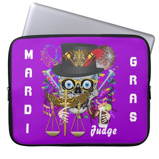 Party Judge  30 colors Important view notes Laptop Computer Sleeves