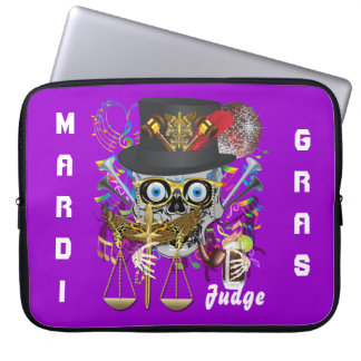Party Judge  30 colors Important view notes Laptop Sleeve