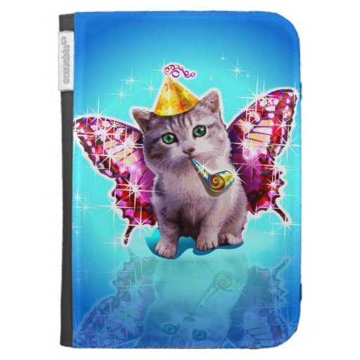Party Kitten Cases For The Kindle