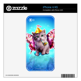 Party Kitten Skins For The iPhone 4S