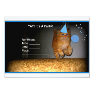 Party Kitty Invitation