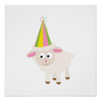 Party Lamb Poster
