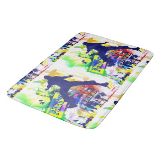 Party Life Dance Bath Mat