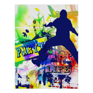 Party Life Poster