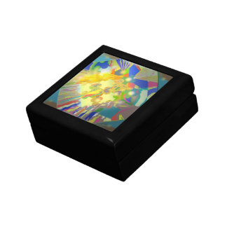 Party Lights Abstract Gift Box