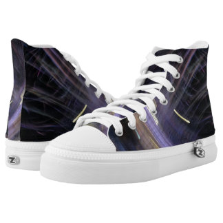 Party Lights at Night High-Top Sneakers