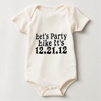 Party Like 2012 Baby Bodysuit