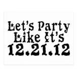 Party Like 2012 Postcard