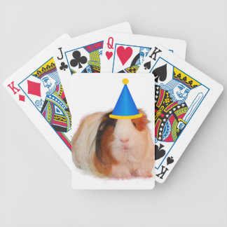 Party Like A Guinea Pig Bicycle Playing Cards