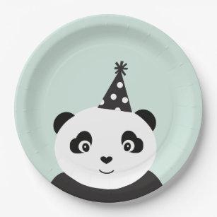 Party Like A Panda Paper Plate  sc 1 st  Zazzle & Panda Plates | Zazzle